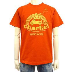 charlie!Tシャツレッドフロント