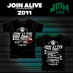 JOIN ALIVEオフィシャルTシャツ-A