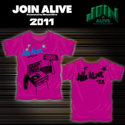 JOIN ALIVE様オフィシャルTシャツ-B